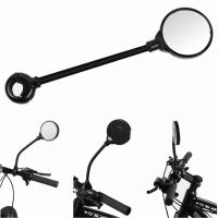 Fahrradspiegel mit Weitwinkelobjektiv