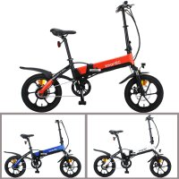 E-Klapprad / Falt-Pedelec Camp-Mini / E-Bike 16 Zoll