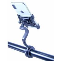 Fahrrad-Smartphone-Halterung mit langer Stange