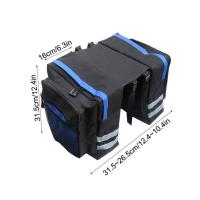 Doppel-Gepäckträgertasche (30L)
