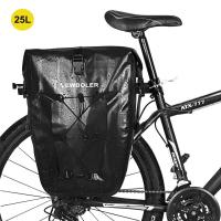 Newboler Fahrrad-Seitentasche (25L) Schwarz